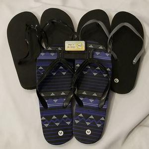 Other - Men's Flip Flops Bundle of 3